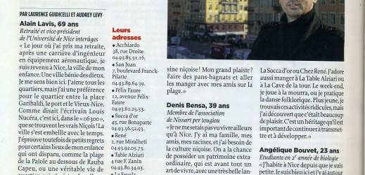 Denis Bensa, mourraire, en vedette dans Le Point !