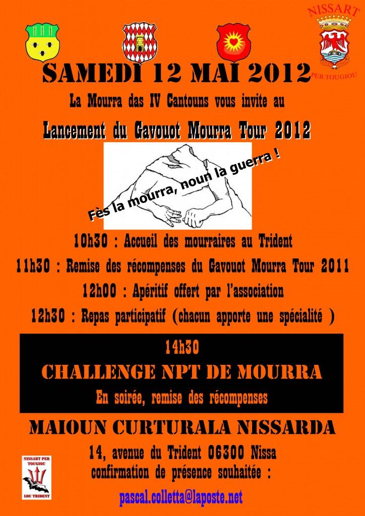 Rendez-vous le samedi 12 mai au Trident pour le lancement du Gavouot Mourra Tour 2012 dans Actualités Challenge-Mourra-2012-afficha-724x1024