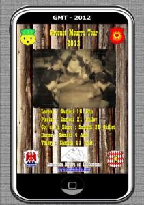 L'affiche du Gavouot Mourra Tour 2012 réalisée par Denis Bensa dans Actualités affiche-mourra-211x300
