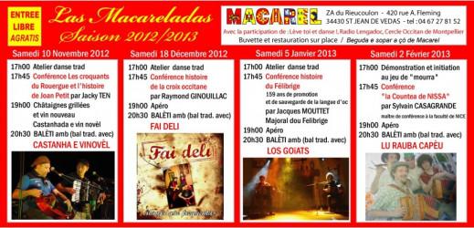 Samedi 2 février nous serons présents à Saint Jean de Vedas chez Macarel
