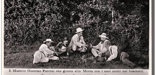 Puccini jouait aussi à la mourra !