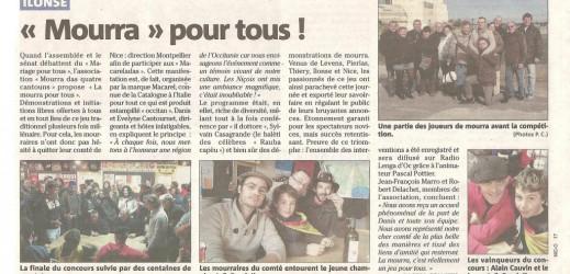 Mourra pour tous à Montpellier !