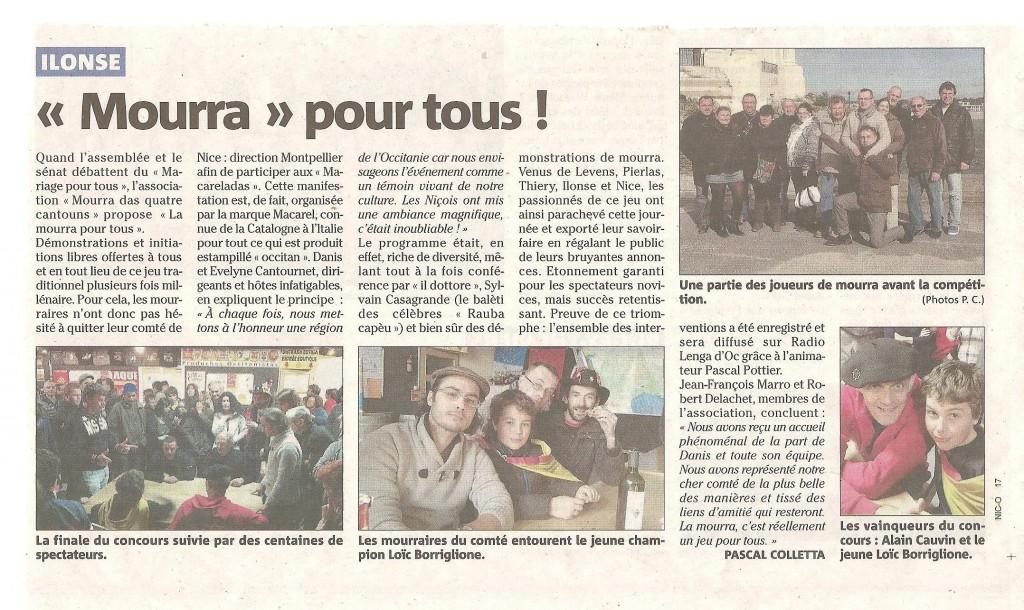 Mourra pour tous à Montpellier ! dans Actualités